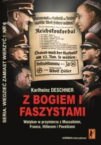 Okładka książki Z Bogiem i faszystami