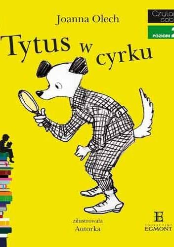 Okładka książki Tytus w cyrku