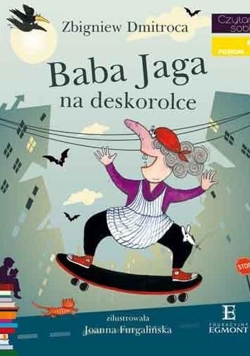 Okładka książki Baba Jaga na deskorolce