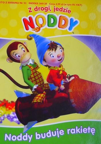 Okładka książki Noddy buduje rakietę
