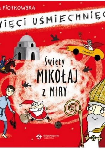 Okładka książki Święty Mikołaj z Miry. Święci uśmiechnięci