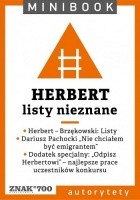 Herbert. Listy nieznane