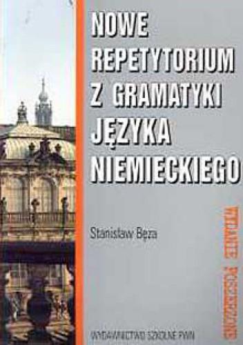 Okładka książki Nowe repetytorium z gramatyki języka niemieckiego