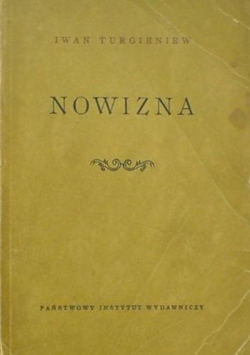 Okładka książki Nowizna: powieść w dwóch częściach
