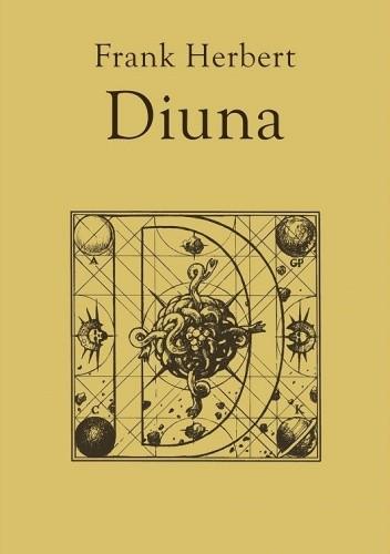 Okładka książki Diuna