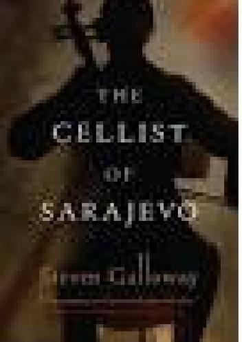 Okładka książki The Cellist of Sarajevo