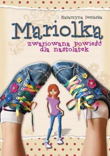 Okładka książki Zwariowana powieść dla nastolatek