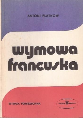Okładka książki Wymowa francuska