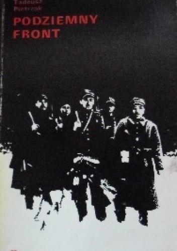 Okładka książki Podziemny front