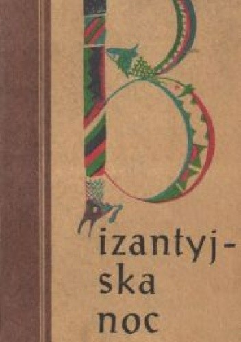 Okładka książki Bizantyjska noc