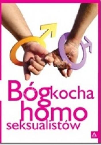Okładka książki Bóg kocha homoseksualistów