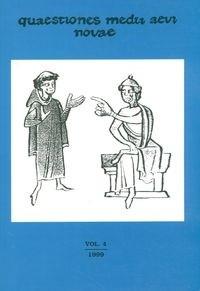 Okładka książki Quaestiones Medii Aevi Novae vol IV