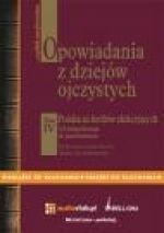 Okładka książki Opowiadania z dziejów ojczystych t. IV - Polska za królów elekcyjnych