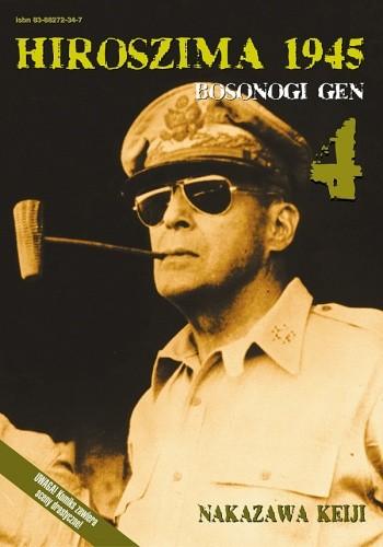 Okładka książki Hiroszima 1945. Bosonogi Gen 4