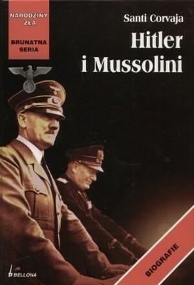 Okładka książki Hitler i Mussolini