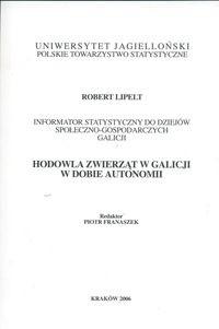 Okładka książki Hodowla zwierząt w Galicji w dobie autonomii