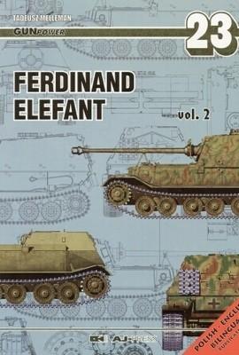 Okładka książki Ferdinand Elefant. Część 2. (wersja polsko-angielska)