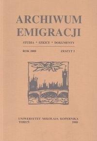 Okładka książki Archiwum Emigracji. Tom 3. Libella. Galerie Lambert: szkice i wspomnienia