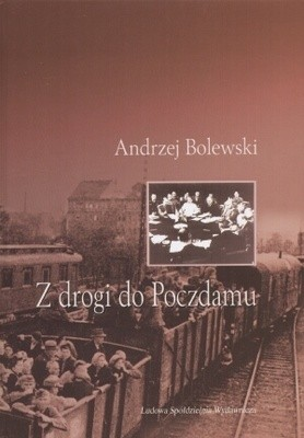 Okładka książki z drogi do Poczdamu