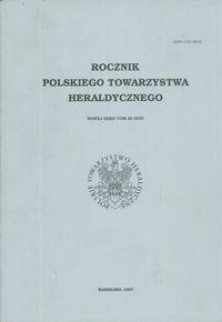 Okładka książki Rocznik Polskiego Towarzystwa Heraldycznego. Tom III (XIV)