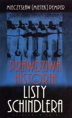 Okładka książki Prawdziwa historia listy Schindlera