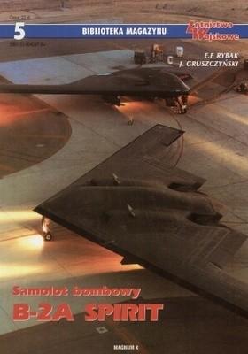 Okładka książki Samolot bombowy B-2A Spirit