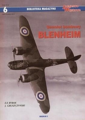 Okładka książki Samolot bombowy Blenheim