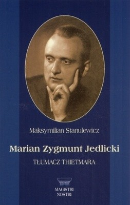 Okładka książki Marian zygmunt Jedlicki