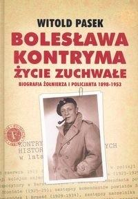 Okładka książki Bolesława Kontryma życie zuchwałe