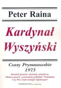 Okładka książki Kardynał Wyszyński T. 12