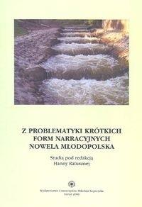 Okładka książki Z problematyki krótkich form narracyjnych nowela młodopolska