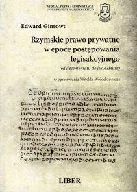 Okładka książki Rzymskie prawo prywatne w epoce postępowania legisakcyjnego