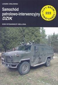Okładka książki Samochód patrolowo - interwencyjny Dzik