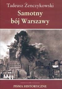 Okładka książki Samotny bój Warszawy