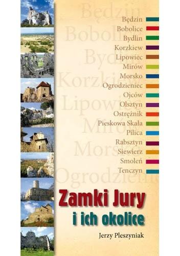 Okładka książki Zamki Jury i okolice