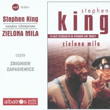 Okładka książki Zielona Mila. Audiobook