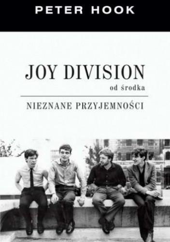 Okładka książki Joy Division od środka. Nieznane przyjemności