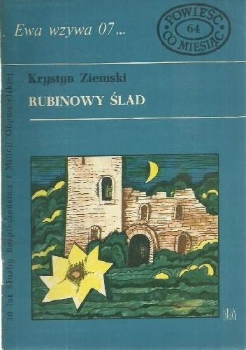 Okładka książki Rubinowy ślad