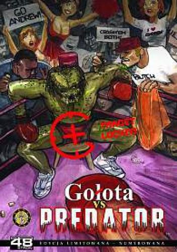 Okładka książki 48 stron - Gołota vs Predator