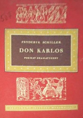 Okładka książki Don Karlos