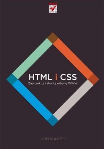 Okładka książki HTML i CSS. Zaprojektuj i zbuduj witrynę WWW