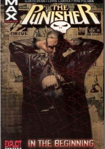 Okładka książki The Punisher MAX Vol. 1: In the Beginning