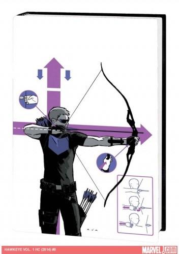 Okładka książki Hawkeye vol. 1 HC