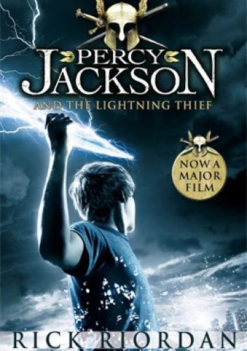 Okładka książki The Lightning Thief