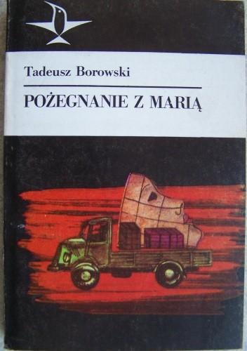 Okładka książki Pożegnanie z Marią