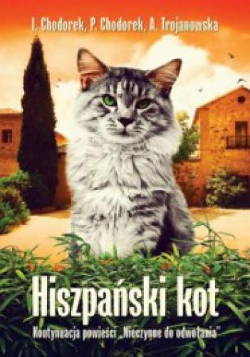 Okładka książki Hiszpański kot