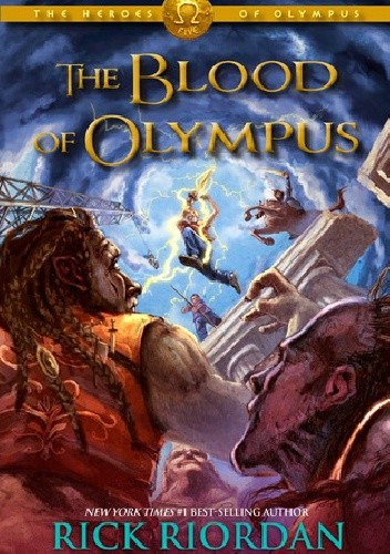 Okładka książki The Blood of Olympus