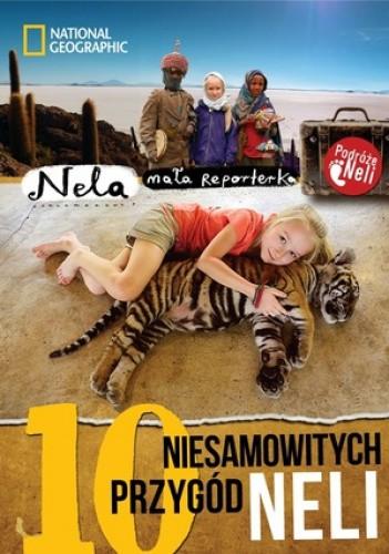 Okładka książki 10 niesamowitych przygód Neli