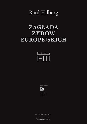 Okładka książki Zagłada Żydów Europejskich