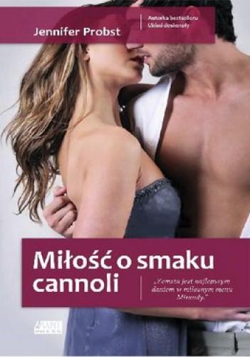 Okładka książki Miłość o smaku cannoli